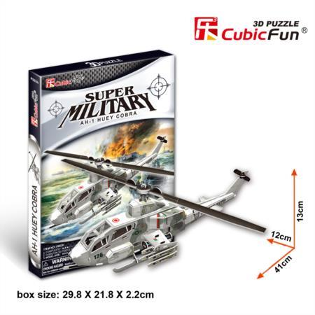 Cubic Fun P603H AH-1 Huey Cobra Helicopter by Cubic Fun
