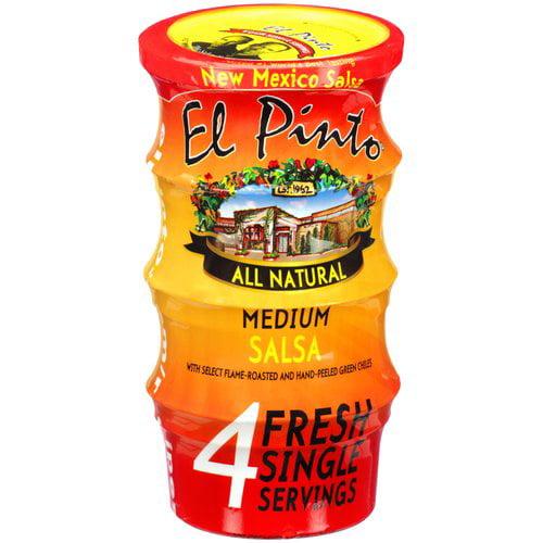 El Pinto Medium Single Serve Salsa, 3 oz, 4 ct