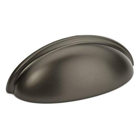 "25 Pack - Cosmas 783GPH Graphite Cabinet Hardware Bin Cup Drawer Handle Pull - 3"" Inch (76mm) Hole Centers - image 1 of 1"