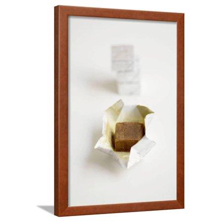 Beef Bouillon Cubes Framed Print Wall Art By Louis Laurent (Lapis Cube)