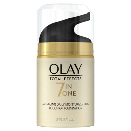 Olay Total Effects Cc Cream Daily Face Moisturizer   Touch Of Foundation  1 7 Fl Oz