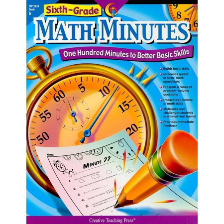 ISBN 9781591984306 product image for Math Minutes: Sixth-Grade Math Minutes: One Hundred Minutes to Better Basic Skil | upcitemdb.com