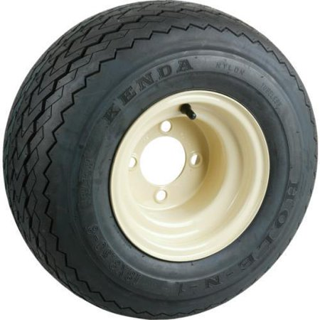 - Club Car Utility Vehicle Tire And Wheel Assembly - Beige
