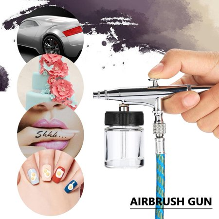 Vbestlife Airbrush Spray Gun Kit02mm05mm Needle Gravity Feed Air