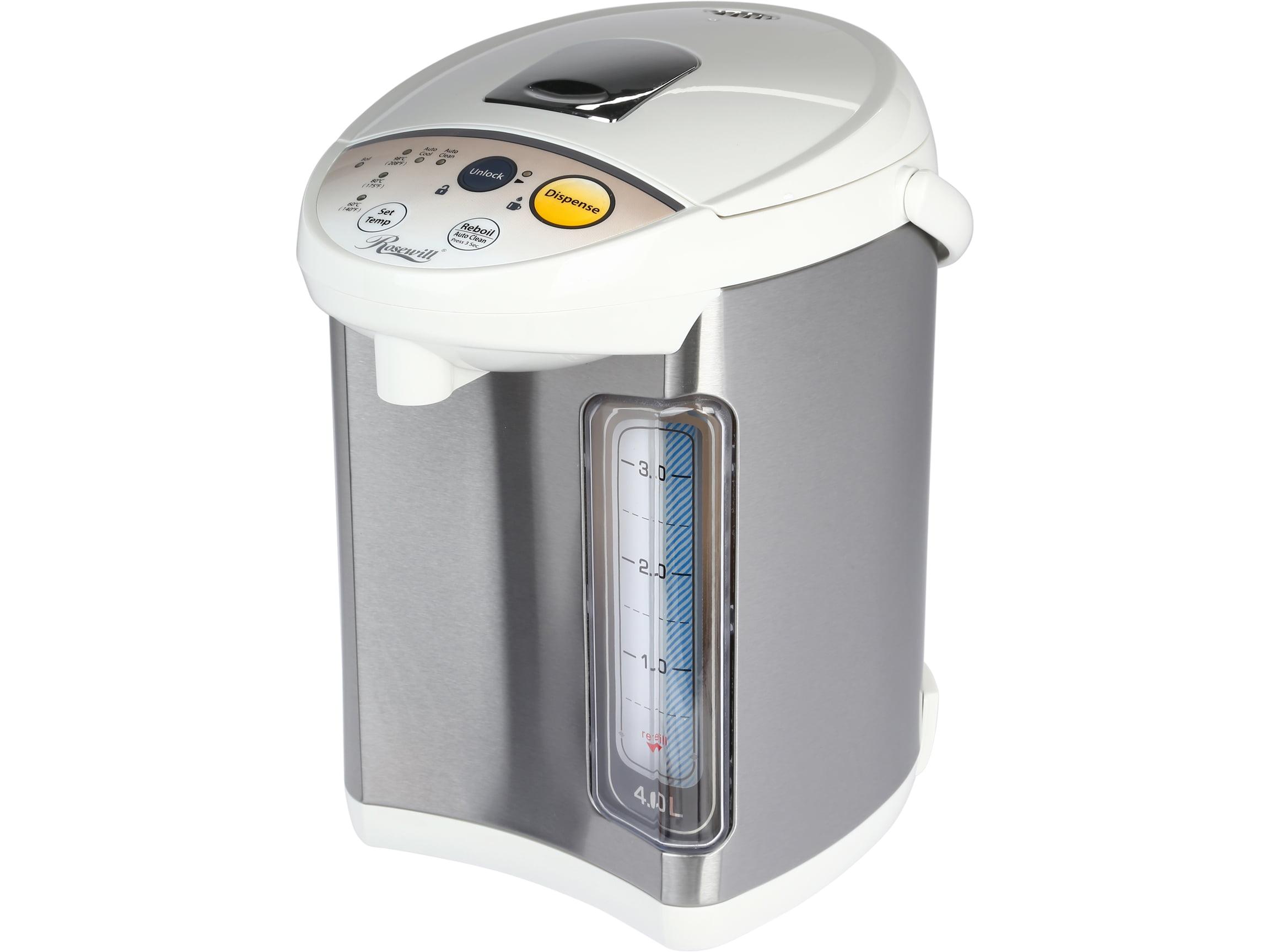 Rosewill 4 0 Liter Dual Electric Hot Water Dispenser Boiler And Warmer Rhap 16001