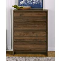 Ameriwood Home Atlas 4 Drawer Dresser, Walnut