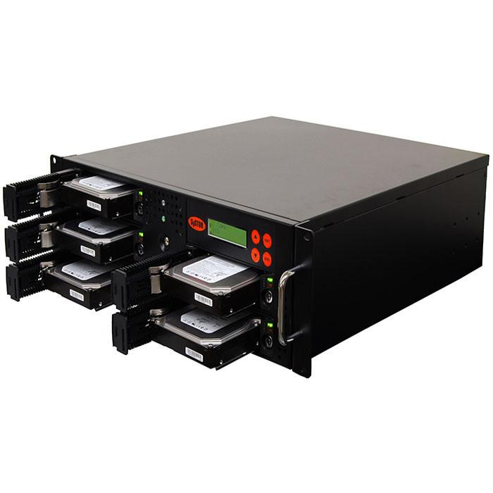 SySTOR 1:4 SATA Hard Disk Drive / Solid State Drive (HDD/SSD) Rackmount Duplicator/Sanitizer - (90MB/sec)