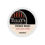 Tully's Coffee French Roast Extra Bold - Coffee (pod) - 0.4 oz - arabica - pack of 96