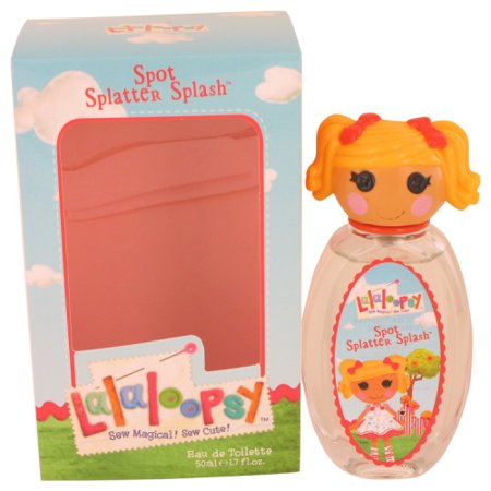- Lalaloopsy Perfume By Marmol & Son Eau De Toilette Spray (Spot Splatter Splash) 1.7 oz