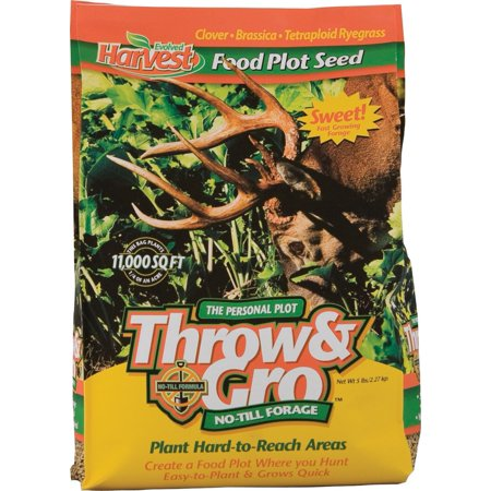 70505 Throw & Gro Food Plot Mix, 5-Lbs. By Evolved Industries