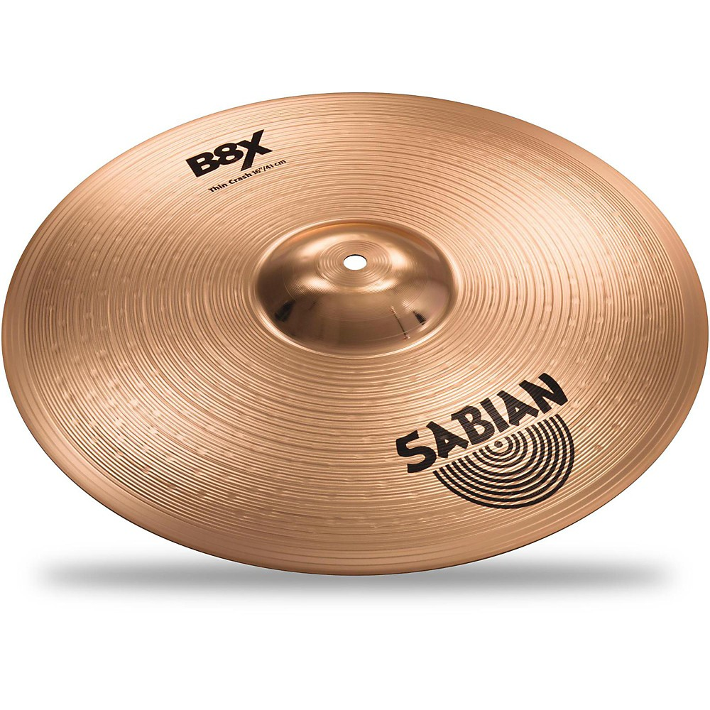 Sabian B8X Thin Crash Cymbal 16 in.