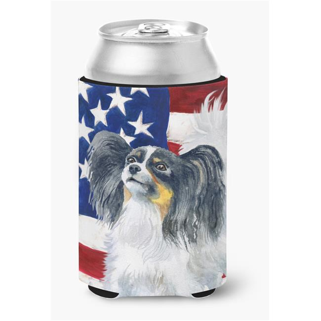 Papillon Patriotic Can or Bottle Hugger - image 1 of 1