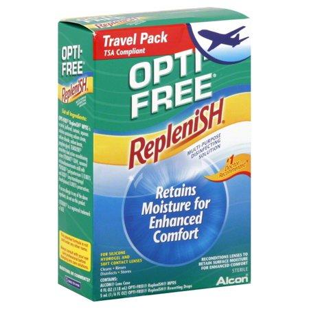 - Alcon Opti Free RepleniSH Travel Kit, 1 ea