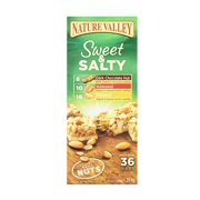 Nature Valley Sweet & Salty Granola Bars 36 Count Variety Pack 1.2 Oz Bars