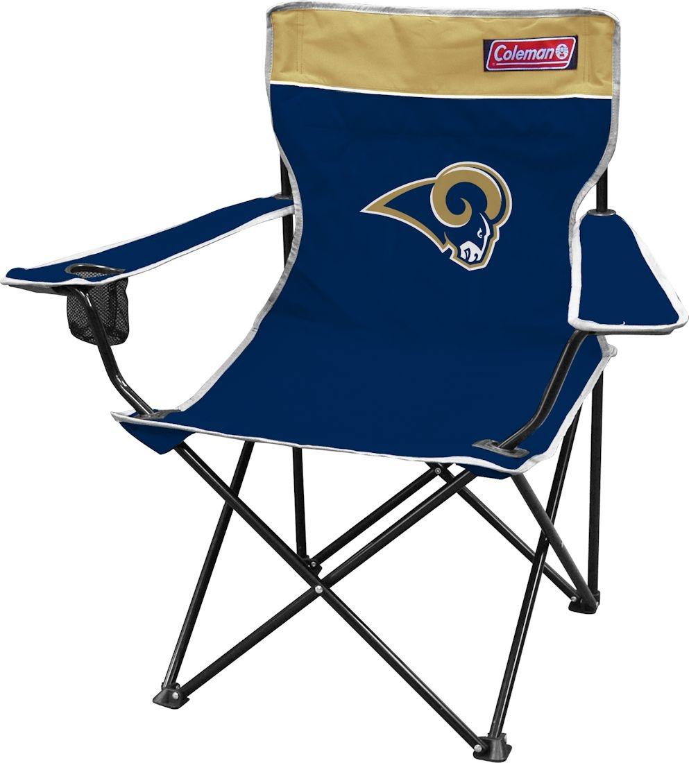 St. Louis Rams Official NFL 29 inch  x 11 inch  x 34 inch  Fold Out Tailgate Chair by Jarden
