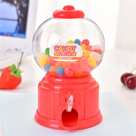 Siaonvr Mini Cute Twists Candy Machine Dispenser Coin Saving Bank Money Storag