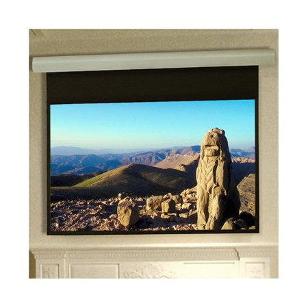 Draper Silhouette Series E Contrast Grey Electric Projection Screen Low Voltage and Quiet Motor ()