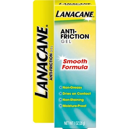Lanacane Anti-Friction Gel, Smooth Formula 1 oz (Pack of -
