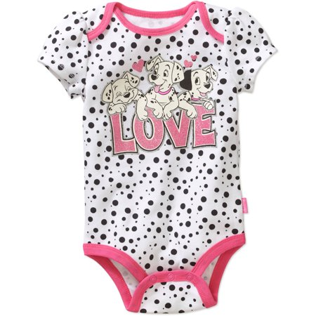 Disney Dalmatians Newborn Baby Girls' Bodysuit