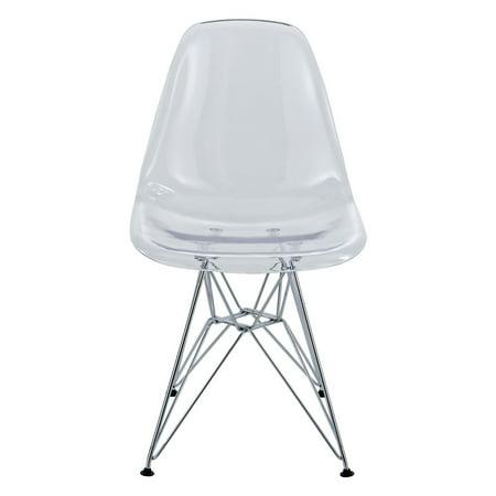 Modway Eiffel Dining Side Chair - Clear