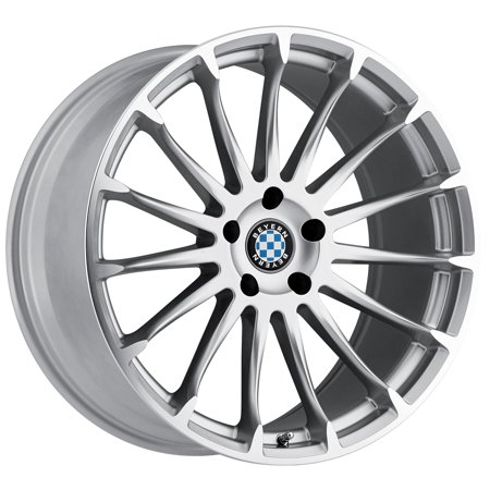 Beyern Aviatic 18x8.5 5x120 +40mm Silver/Mirror Wheel Rim