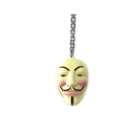 V for Vendetta Silver Tone Cosplay Costume w/Gift Box by Superheroes - V For Vendetta Cape