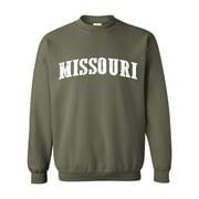 Unisex Missouri Crewneck Sweatshirt