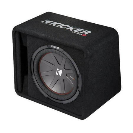 Kicker 12 Inch 1000 Watt 2-Ohm Ported Vented Subwoofer Enclosure Box | 43VCWR122 ()
