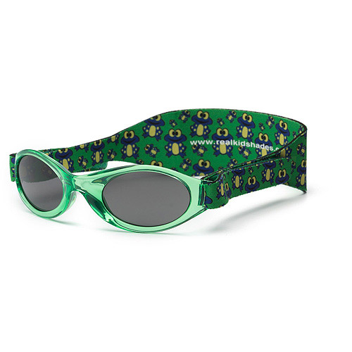 Green Frame Polycarbonate Green Frogs Band Smoke Lens, 0+
