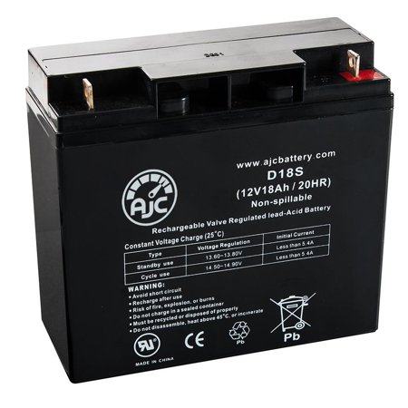 AC Delco M1924 12V 18Ah Sealed Lead Acid Battery - This is an AJC Brand Replacement