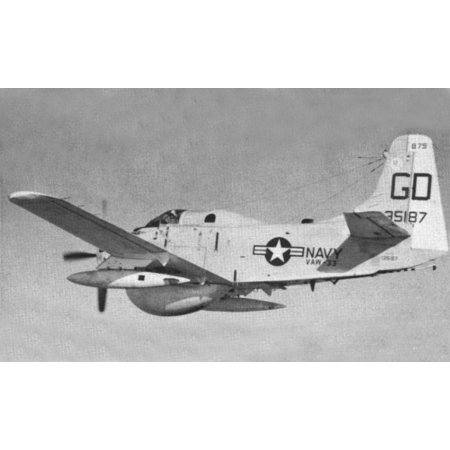 - LAMINATED POSTER of Airborne Early Warning Squadron 33 (VAW-33) Night Nawks makes the last flight before retiremen Poster Print 24 x 36