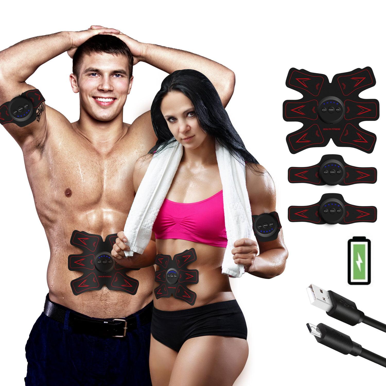 Abdominal Trainer ABS Stimulator Muscle Toner Muscle Toning Belts Ab Trainer Waist Trainer