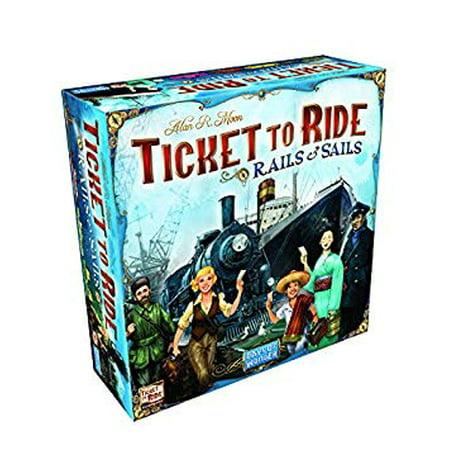 Ticket To Ride Rails & Sails Board covid 19 (Rails Board Game coronavirus)
