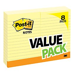 - Post it® Notes, 4