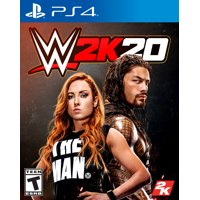 WWE 2K20, 2K, PlayStation 4