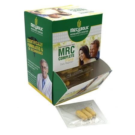 Metabolic Research Center MRC Complet Plus Hommes - Complément alimentaire multivitaminé, 30 count