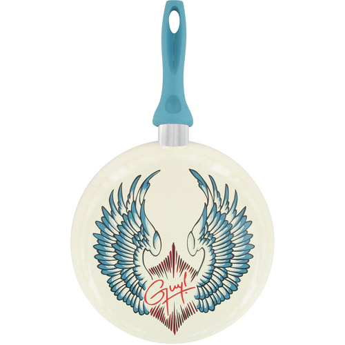 """Guy Fieri Decorated 10"""" Fry Pan, Wings"""