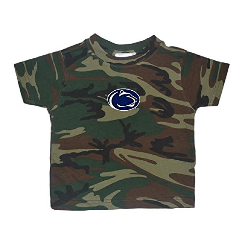 Toddler Boys Penn State Nittany Lions Camo Tee Shirt Size XS 2/4