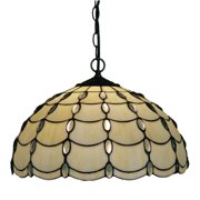 Amora Lighting  Tiffany Style Cascades Pendant Lamp