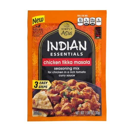 Simply Asia Indian Essentials Chicken Tikka Masala Seasoning Mix  1 06 Oz