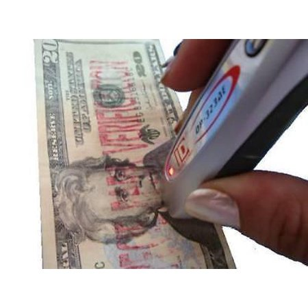 2 in 1 Mini Portable Counterfeit Money Detector Dollar US Euro GBP Fake (The Best Counterfeit Money Detector)