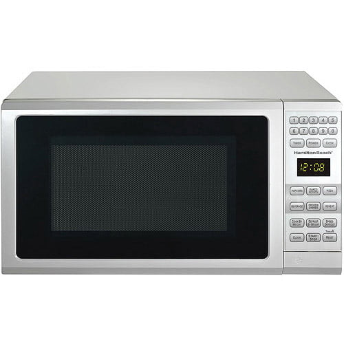 Hamilton Beach 0.7 Cu. Ft. Microwave Oven, Black by Guangdong Galanz