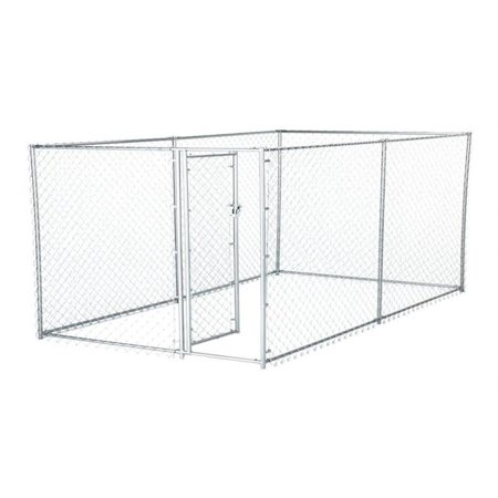 Galvanized Chain Link Kennel with PC Frame (Cheap Chain Link Dog Kennels For Sale)