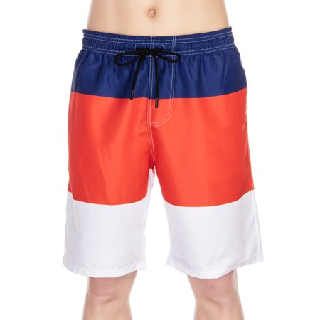 Fashion Men Swim Trunks Shorts Pants Boardshorts Swimwear Swimsuit Beachwear Surfing Swimming Bathing Suit with Elastic waist Drawstring Quick Dry Freak Mens Boardshorts