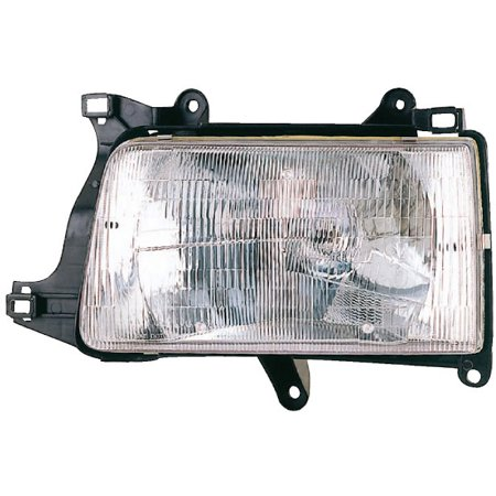 Right Side Headlight Assembly For Toyota T100 1993 1994 1995 1996 1997 (1996 Toyota T100 Engine 3-4 L V6 Xtracab)