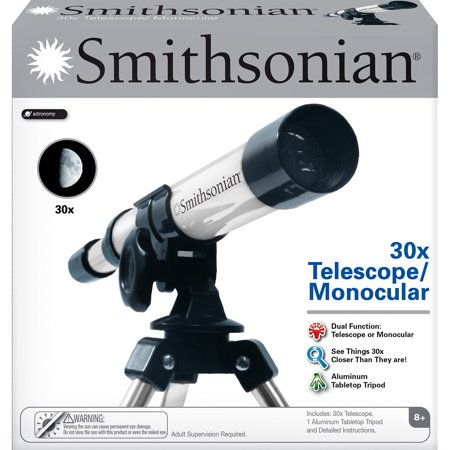 Smithsonian 30X Telescope/Monocular Kit