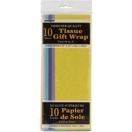 (5 Pack) Tissue Paper Sheets, 26 x 20 in, Pastel, 10ct Pastel Tissue Paper