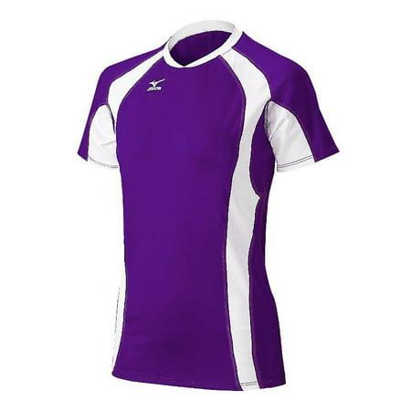 Mizuno Women's Techno Volley V Short Sleeve Volleyball Jersey