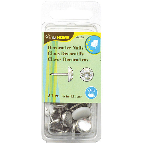Dritz Upholstery Decorative Nails, 7/16""