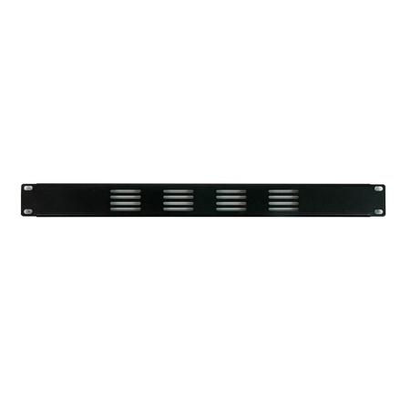 1 Space Perforated Vent Panel - OSP 1 Space Vented Rack Panel 19